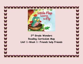 2nd Grade Wonders Reading Unit 1 Week 1 Curriculum Map