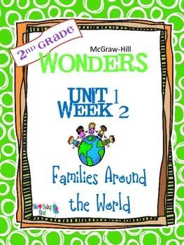 2nd Grade Wonders Reading  Unit 1 Week 2 ~ Families Around the World