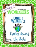 2nd Grade Wonders (2014) Reading Unit 1 Week 2 ~ Families Around the World