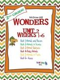 2nd Grade Wonders Reading  Unit 2 Bundle