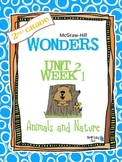 2nd Grade Wonders Reading ~ Unit 2 Week 1 ~ Animals in Nature