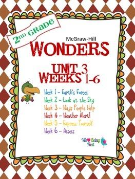 2nd Grade Wonders Reading ~  Unit 3 Bundle