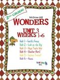 2nd Grade Wonders (2014) Reading ~  Unit 3 Bundle