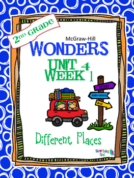 2nd Grade Wonders (2014) Reading ~  Unit 4 Bundle