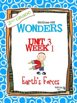 2nd Grade Wonders Reading ~ Unit 3 Week 1 ~ Earth's Forces