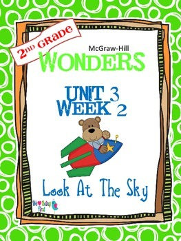 2nd Grade Wonders Reading ~ Unit 3 Week 2 ~ Look at the Sky