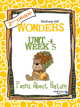 2nd Grade Wonders (2014) Reading ~ Unit 4 Week 5 ~ Poems About Nature