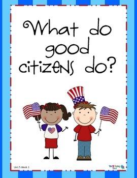 2nd Grade Wonders (2014) Reading  Unit 5 Week 1 ~ Being A Good Citizen