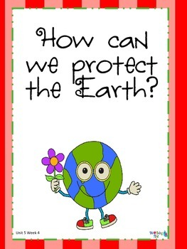 2nd Grade Wonders (2014) Reading  Unit 5 Week 4 ~ Preserving Our Environment