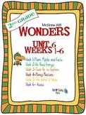 2nd Grade Wonders (2014) Reading ~  Unit 6 Bundle