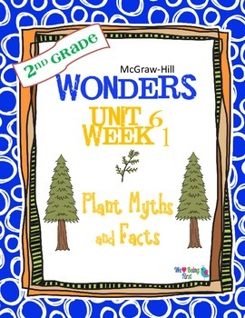 2nd Grade Wonders Reading ~ Unit 6 Week 1 ~ Plant Myths and Facts