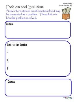 2nd Grade Wonders Reading ~ Unit 6 Week 4 ~ Money Matters