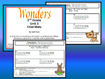 2nd Grade Wonders Resource Unit 3