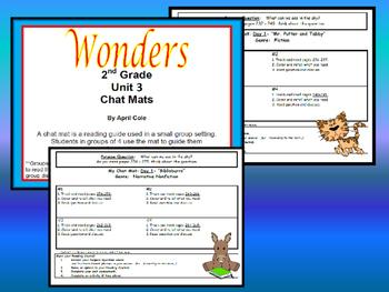 2nd Grade Wonders Resource Unit 3