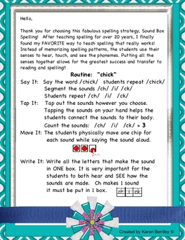 2nd Grade Wonders Spelling- Sound Box Spelling - On Grade Level Word List