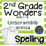 2nd Grade Wonders | Spelling | Unscramble | BUNDLE