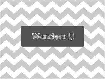 2nd Grade Wonders Unit 1 Week 1 Spelling Words