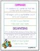 2nd Grade Wonders Unit 1 Week 2 Grammar Charts and Assessments