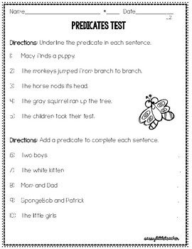 2nd Grade Wonders Unit 1 Week 4 Grammar Charts and Assessments