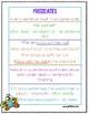 2nd Grade Wonders Unit 1 Week 4 Grammar Charts and Assessments