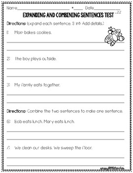 2nd Grade Wonders Unit 1 Week 5 Grammar Charts and Assessments