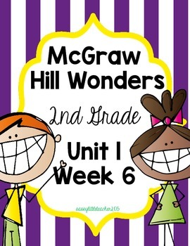 2nd Grade Wonders Unit 1 Week 6 Assessments