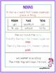 2nd Grade Wonders Unit 2 Week 1 Grammar Charts and Assessments