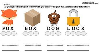 2nd Grade Wonders Unit 2 Week 1 Spelling