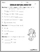 2nd Grade Wonders Unit 2 Week 2 Grammar Charts and Assessments