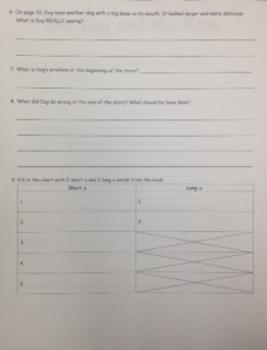 2nd Grade Wonders Unit 2 Week 2 On Level Response - The Dog and the Bone
