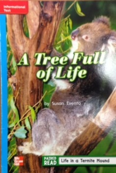 2nd Grade Wonders Unit 2 Week 3 On Level Response - A Tree Full of Life
