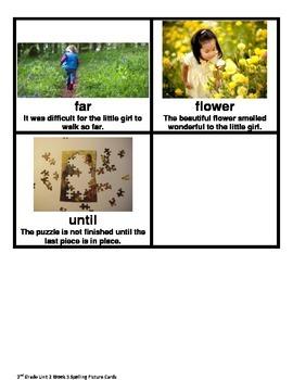 2nd Grade Wonders Unit 2 Week 5 Spelling Picture Cards