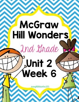 2nd Grade Wonders Unit 2 Week 6 Assessments