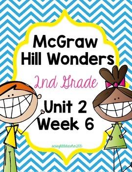 2nd Grade Wonders Unit 2 Week 6 Assessments