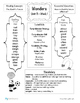 2nd Grade Wonders Unit 3 Differentiated Outlines