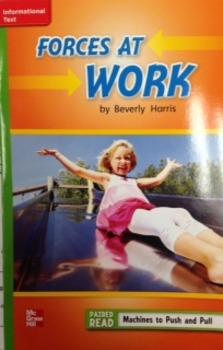 2nd Grade Wonders Unit 3 Week 1 Beyond Level Response Forces at Work