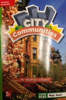 2nd Grade Wonders Unit 3 Week 3 Beyond Level Response- City Communities
