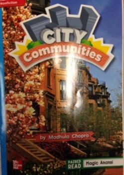 2nd Grade Wonders Unit 3 Week 3 On Level Response- City Communities