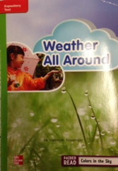 2nd Grade Wonders Unit 3 Week 4 Beyond Response- Weather All Around