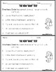 2nd Grade Wonders Unit 3 Week 4 Grammar Charts and Assessments