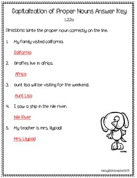 2nd Grade Wonders Unit 4 Week 1 Grammar Charts and Assessments