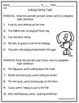 2nd Grade Wonders Unit 4 Week 1 Grammar Charts and Assessments