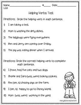 2nd Grade Wonders Unit 4 Week 2 Grammar Charts and Assessments