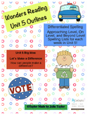 2nd Grade Wonders Unit 5 Differentiated Outlines