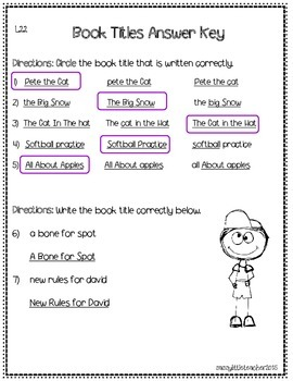 2nd Grade Wonders Unit 5 Week 5 Grammar Charts and Assessments