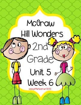 2nd Grade Wonders Unit 5 Week 6 Assessments