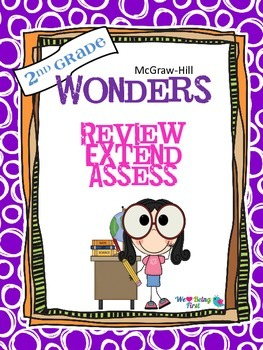 2nd Grade Wonders (2014) Reading ~ Unit 5 Week 6 ~ Review and Assess