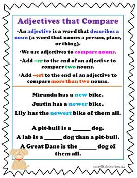 2nd Grade Wonders Unit 6 Week 3 Grammar Charts and Assessments