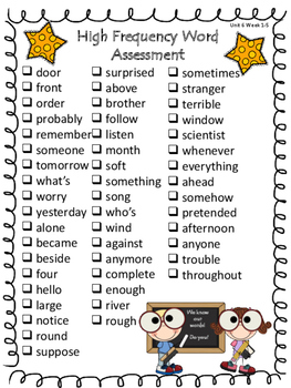 2nd Grade Wonders (2014) ~ Unit 6 Week 6 ~ Review and Assess