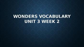 2nd Grade Wonders Vocabulary (Unit 3 Week 2)